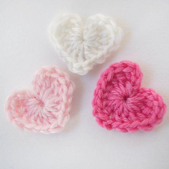 Small Crochet Heart by snovej on Etsy, $2.50 #maineteam
