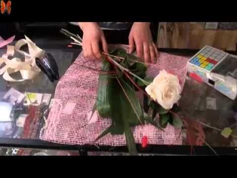 Уроки флористики. Роза, ах роза! - YouTube