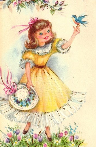 Vintage 1963  Greetings Card
