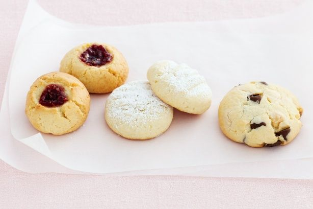Basic butter biscuit dough-----Use this basic butter biscuit recipe to make any of the seven delicious related recipes. Preparation: 0:10, Ingredients: 7, Difficulty: Easy, Makes: 30, Average Rating: 4