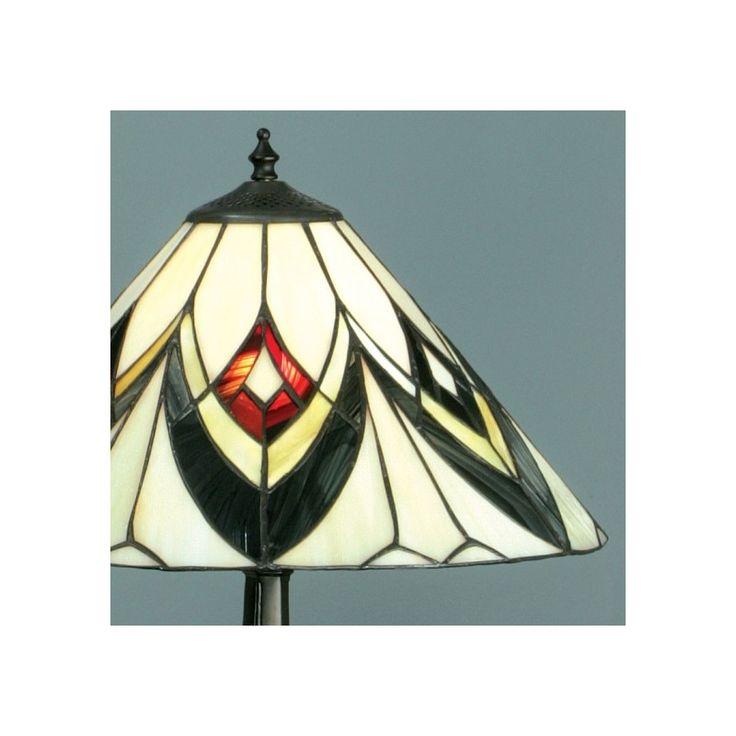 Lampada da Tavolo Tiffany Moderna, Art Deco