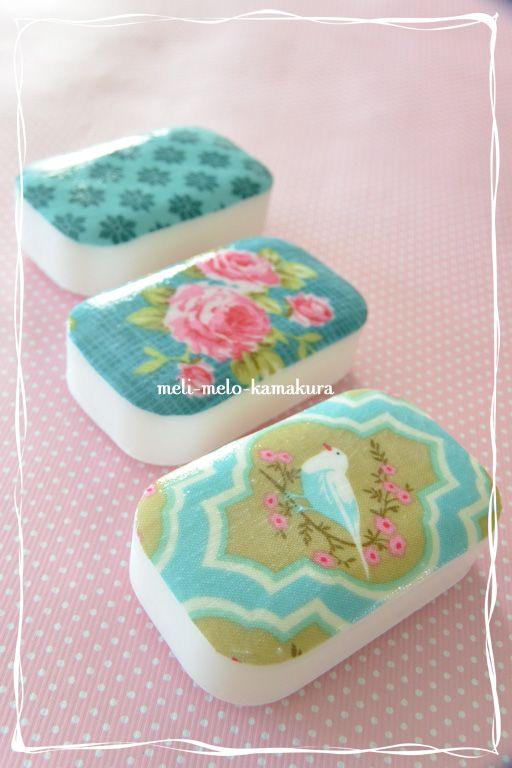 ◆デコパージュ*布でもできます、『Tilda』の石鹸 : フランス雑貨と ... f0251032_21414127.jpg