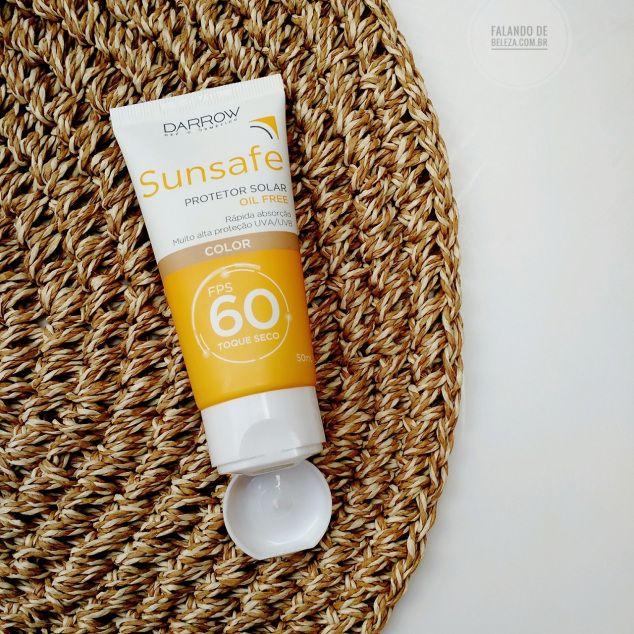 Resenha Protetor Solar Darrow Sunsafe Color Fps 60 Com Imagens