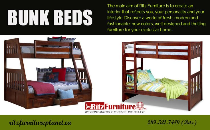 Buy high quality and affordable д_д #bunk_beds_Mississauga, #Ontario, #Canada д_д at Ritz Furniture Planet Ltd.  Visit our store, located at: Store Address: 5200 Dixie Road, #Mississauga, ON L4W 1E8, Canada  For more information just call us: 905-232-7489, 289-521-7489  #bunk_beds_canada #bunk_beds_for_sale #wooden_bunk_beds #cute_bunk_beds_for_sale #kids_bunk_bed_sets #bunk_beds #BunkBeds