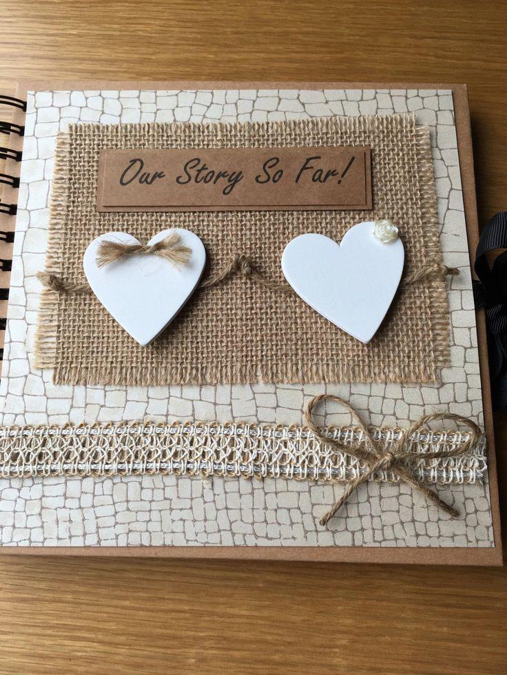 Couples scrapbookkeepsake albumour story photo album