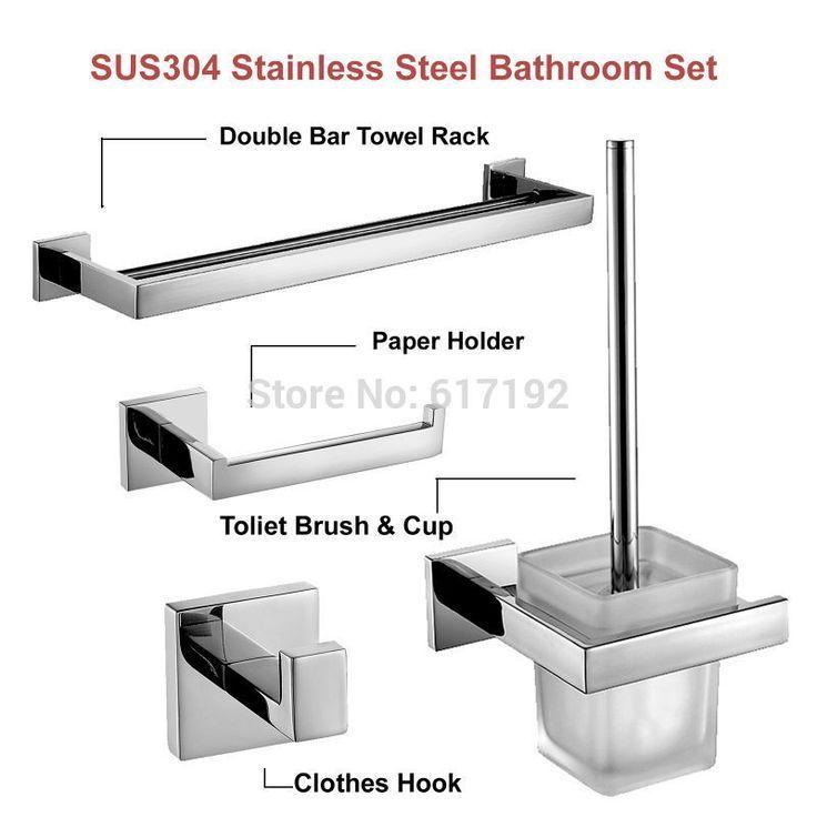 Mirror Polished Sus304 Stainless Steel Bathroom Ac Bathroom