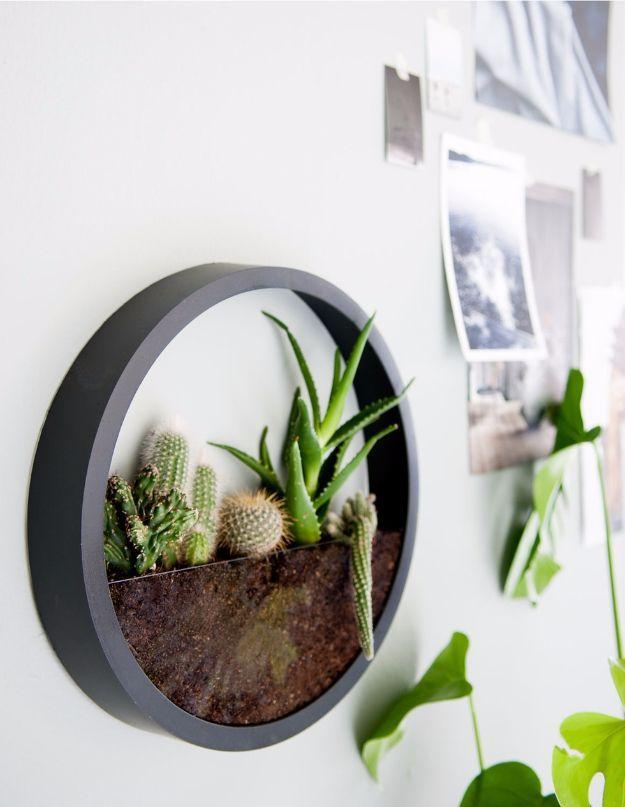 42 DIY Room Decor für Mädchen – DIY Wanduhr Terrarium – Awesome Do It Yourself…