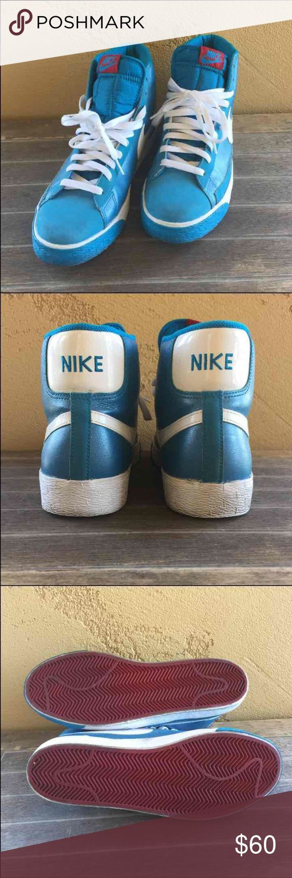 Nike Blazer High Top Sneakers Gently used Nike Blazer SP Retro DS #379416-401 Nike Shoes Athletic Shoes