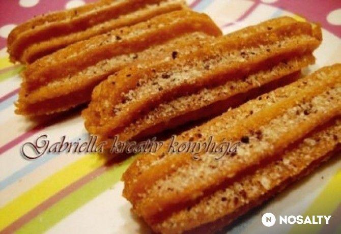 Fahéjas churros 3. - a legegyszerűbb