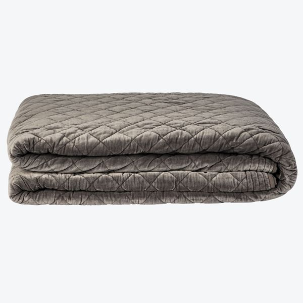 Quilt Velour Dobbelt Sengeteppe | Home & Cottage