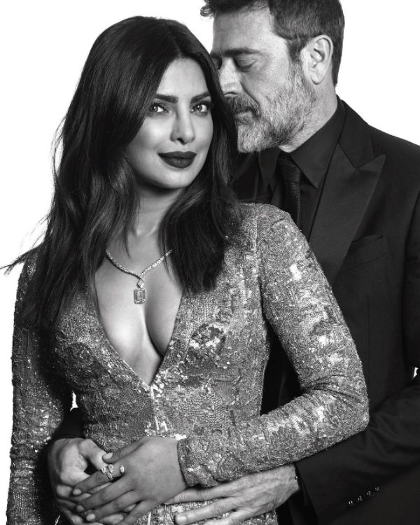The good folk at the Golden Globes also took this  photo of the two for posterity's sake. | 12 Moments Of Priyanka Chopra Slaying At The Golden Globe Awards 2017