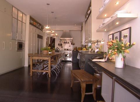 Have always loved this fusion kitchen- Debbie Travis
