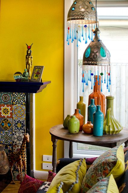 Lounge Room, Mexican Tiles & Formal Lounge - Eclectic Living-room By Key Piece