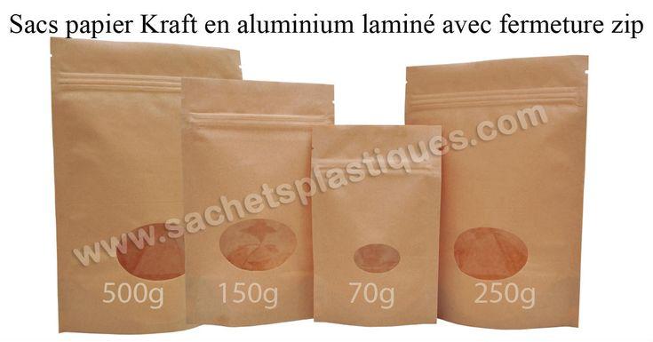 Kraft Paper Bags Oval Window group