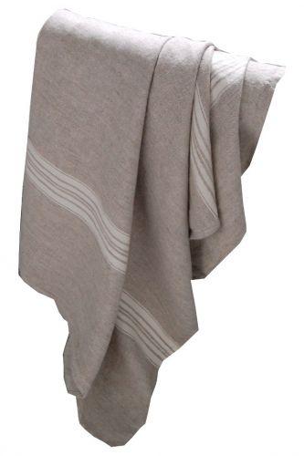 #LinenWay #Linen Throw #Linen #Stone-washed Linen #Striped Linen throw #Contemporary throw
