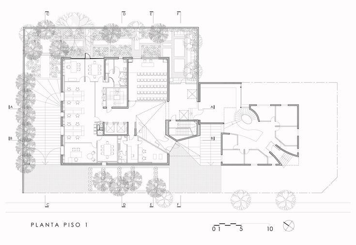 Gallery of Resiter Office Building / Raimundo Lira Arquitectos - 26