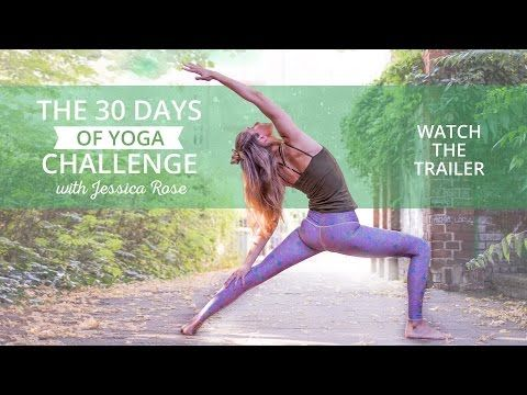 30 Day Yoga Challenge for Beginners | Your Easy At-Home Yoga Workout