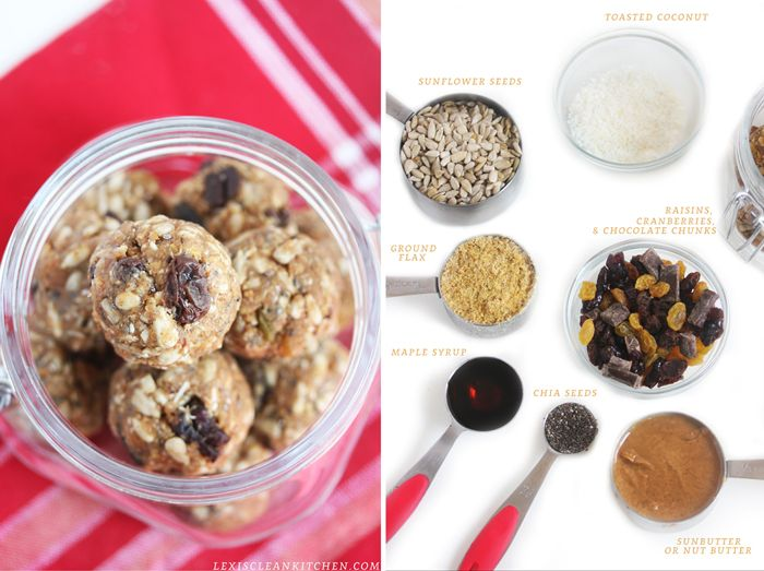 Healthy Food Friday: Sunflower Seeds {No-Bake and Nut-free Powerbites}