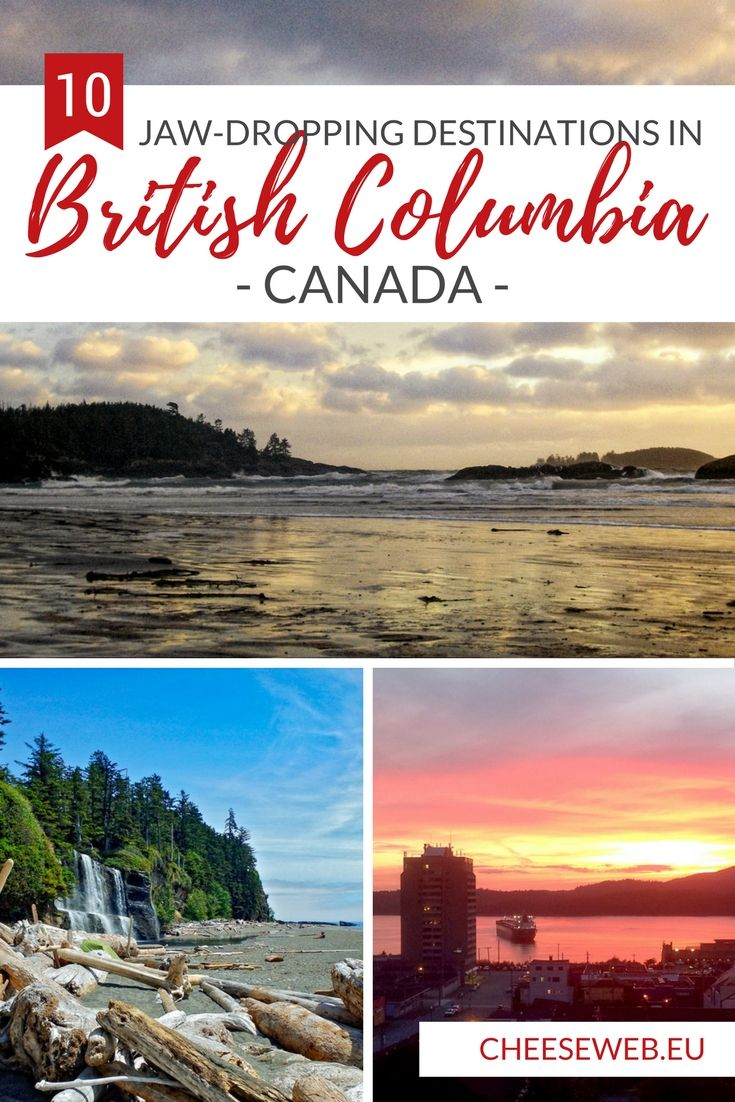 British Columbia native, Emily, shares her top 10 places to visit on Canada's West Coas