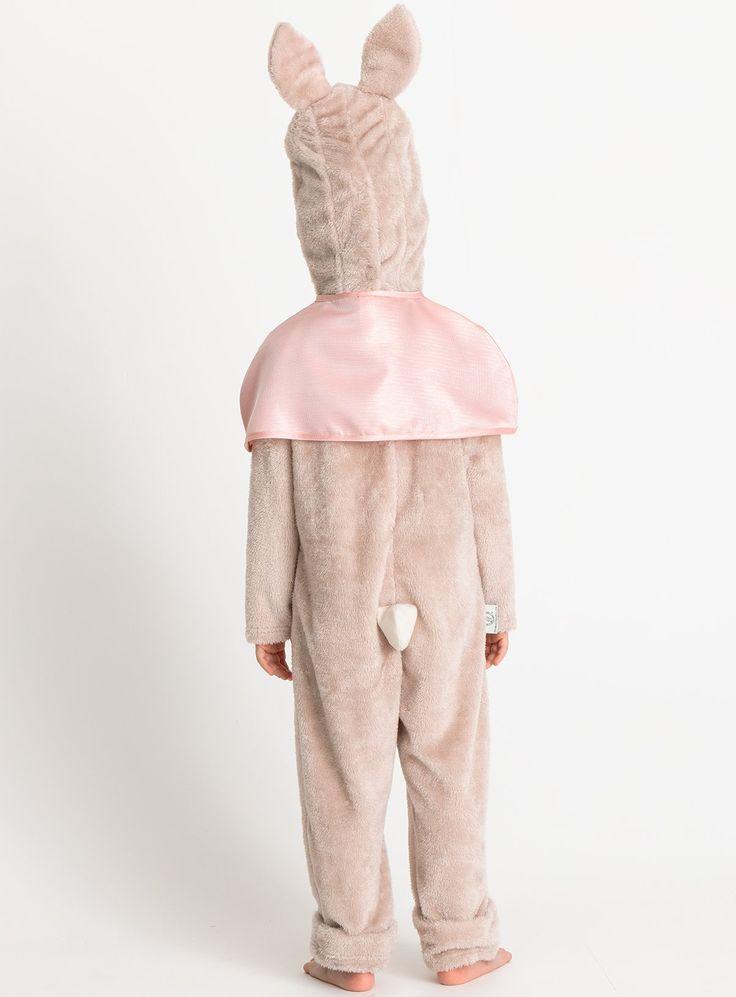 Peter Rabbit Flopsy Furry Soft Bunny Costume Fancy Dress ...