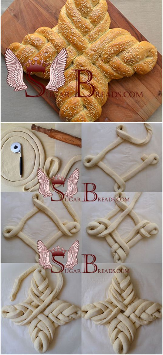 Pain de Pâques   Sugar & Breads.com  - Russie