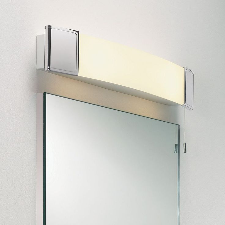 The Anja Shaver Light Has A Socket Discreetly Placed And An Integral Pull Cord Bathroom Mirror LightsBathroom LightingExtension