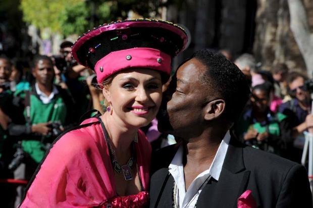 SONA 2013 Fashion   Rachel and Dali Tambo   Moneyweb.co.za