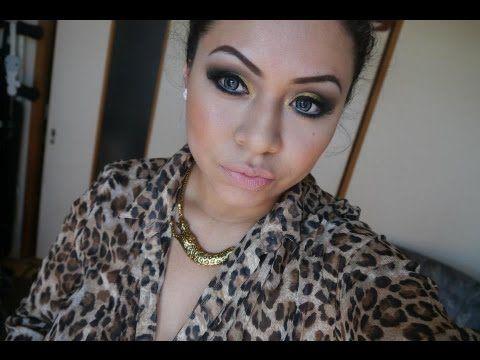 Tutorial de maquillaje: Dorado y negro- Juancarlos960 - YouTube