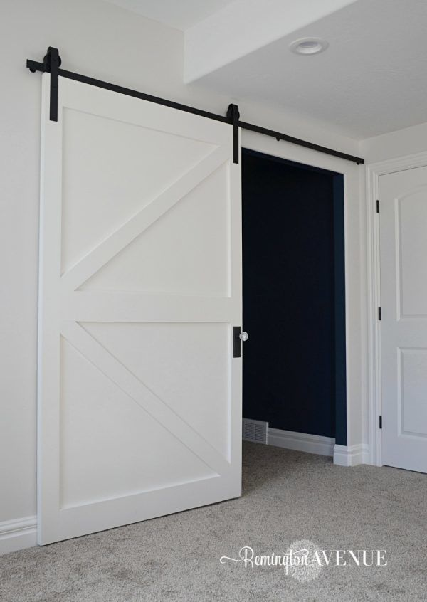 12 Diy Doors That You Can Make Today Knockoffdecor Com Interior Sliding Barn Doors Barn Doors Sliding Interior Barn Doors