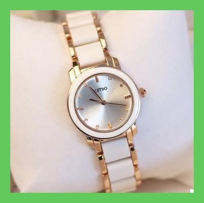 Luxury Brand KIMIO Women Watches Gift Reloj oro Rosa Mujer Montre Etanche Ladies Bracelet Quartz Watches Relogio Feminino Femme