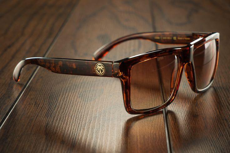VISE Sunglasses: Tortoise from Heat Wave Visual