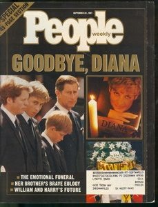 1997 People Magazine: Princess Diana's Funeral