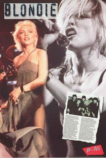 Blondie Band Poster 24x36 – BananaRoad