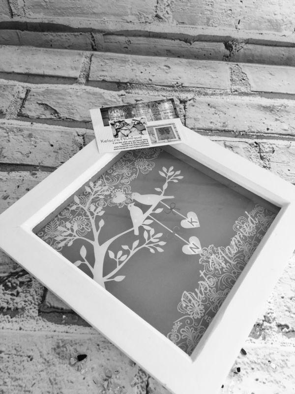 Personalised Wedding, Engagement, Anniversary Framed Gift/Keepsake