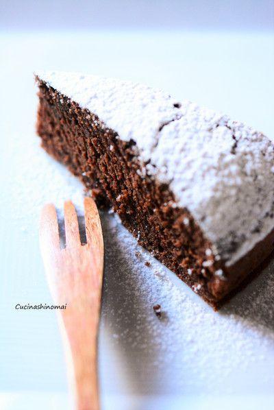 ワインチョコケーキ