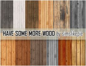 My Sims 3 Blog: Wood Patterns by Simslikepie