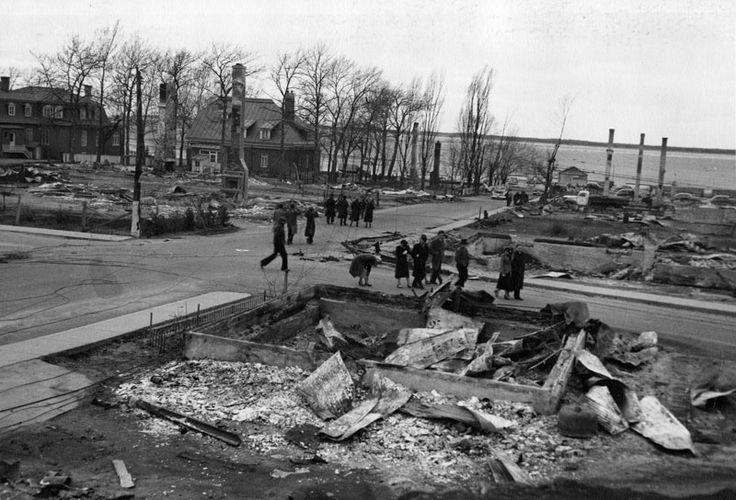 Feu de Rimouski 1950