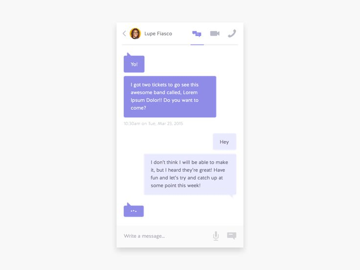 Simple Chat App