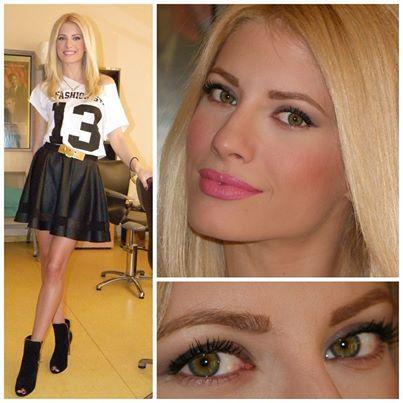 Η αλαβάστρινη επιδερμίδα της Ευαγγελίας Αραβανή σε κάνει να αναρωτιέσαι αν χρειάζεται καν make up! #televisionmakeup#