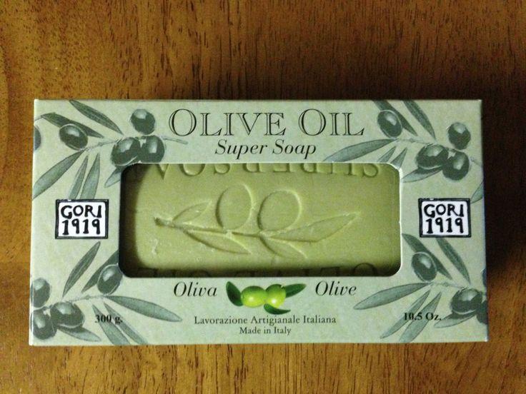 Antico Saponificio Gori 1919 Olive Oil Soap Bar Olive Oil #Gori1919