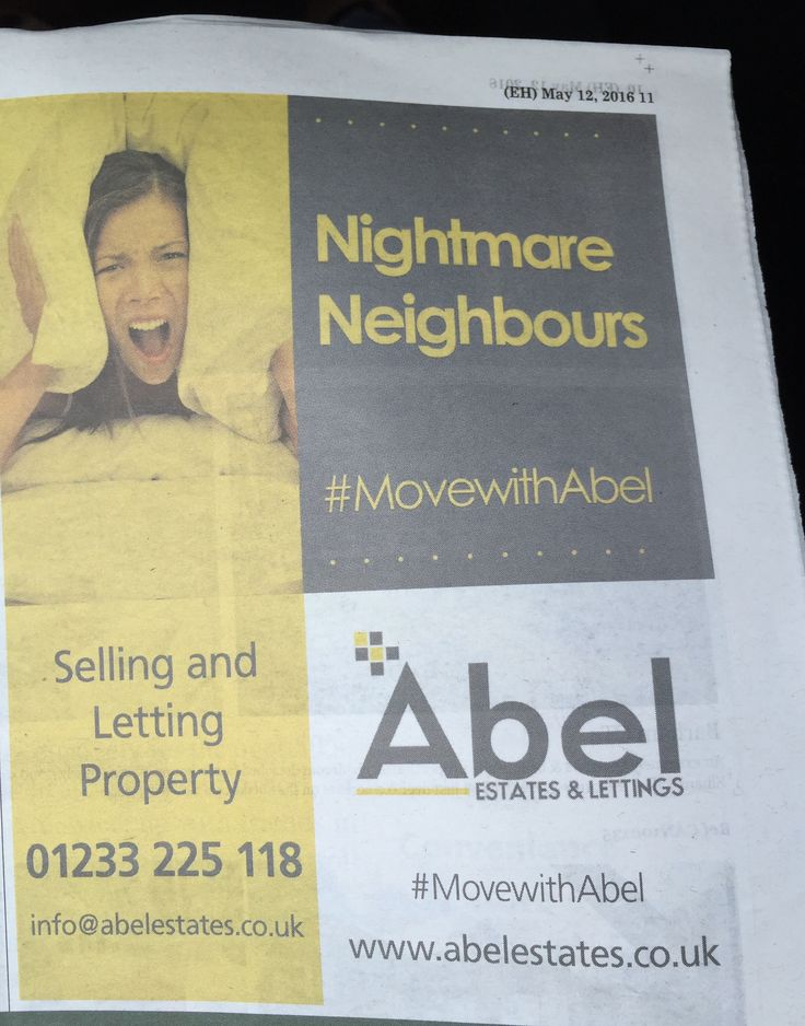 Kentish Express Ashford and District advert today #MovewithAbel