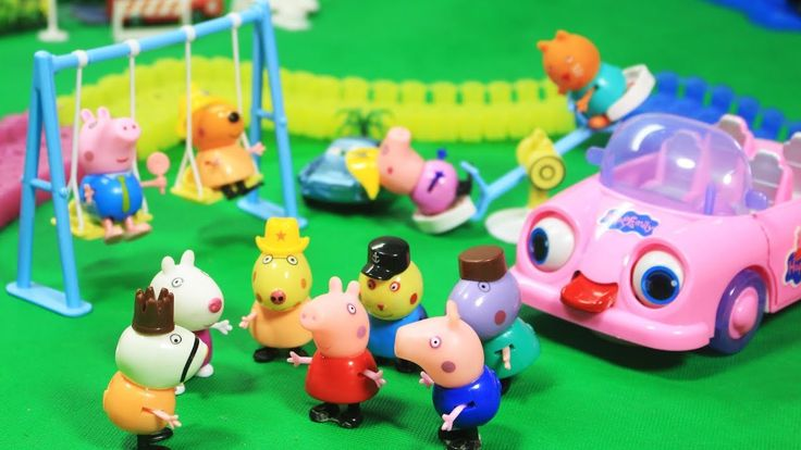 [Toy City] Peppa Pig Toys Story Peppa Pig stop motion animation english ...