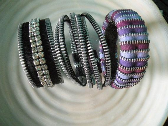 Zipper bracelet love!