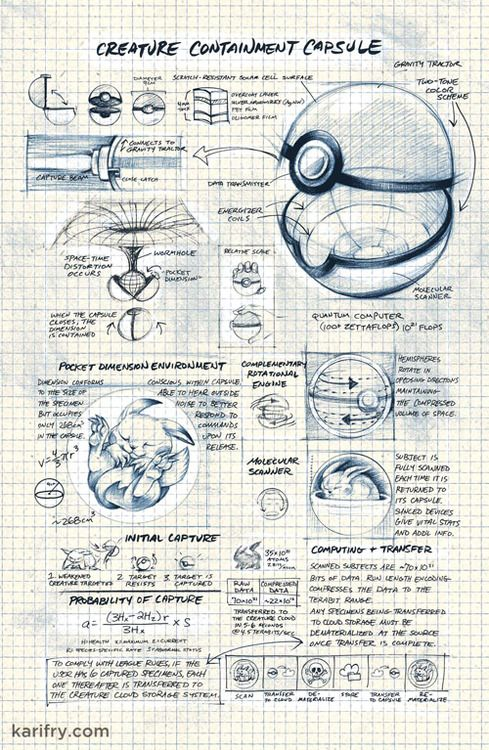 Pokeball - Studies in Evolution by Kari Fry, Joel Hickey, Sabrina Kay, and Jon Kay #Pokemon #Geek