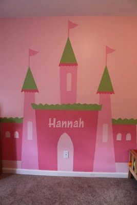For Lizzie's wall, with the spires having shelves on them. Died from cuteness. Poof. Dead.