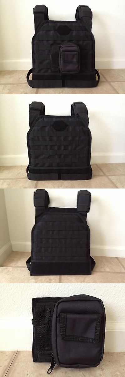 Clothing and Protective Gear 159044: Diamond Tactical Black Molle Vest -> BUY IT NOW ONLY: $35 on eBay!