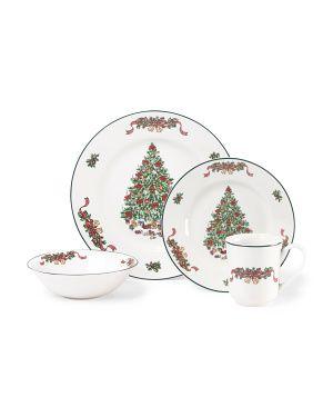 16pc Victorian Christmas Dinnerware Set                                                                                                                                                                                 More