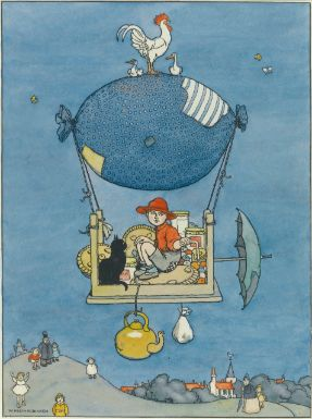 """The Air-ship"" William Heath Robinson. - Sotheby's"