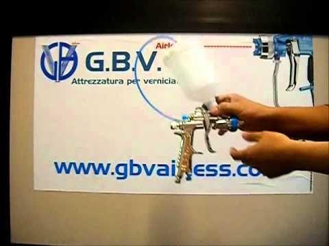 Pistola bassa pressione , GBV Airless  cup gun taza de la pistola Becherpistole