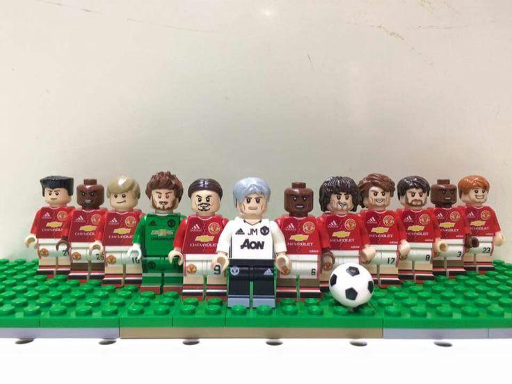 Manchester United Custom Lego Minifigures